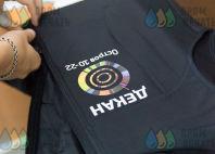 Черные жилеты с изображением «ДЕКАН»