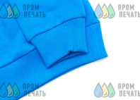 Голубые свитшоты с изображением «Leatherdad»