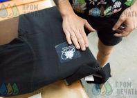 Черные футболки-поло с логотипом «MONSTER TIME»