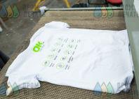 Белые футболки с логотипом «ОК МАСТЕР»