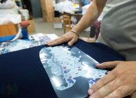 Синие футболки-поло с логотипом «WAZE TEAM RUSSIA»