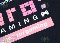 Черные свитшоты с надписью «ОГО gaming»