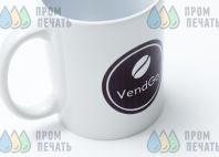 Белые кружки с логотипом «VendGo»
