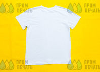 Белые футболки с логотипом «Зебра»