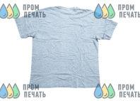 Серая хлопковая футболка с лого «NitroGas»