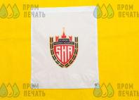 Белые обувные сумки с логотипом «SHA»