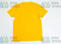 Желтые футболки с принтом «СЕМЬЯ»