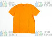 Оранжевые футболки с рисунком «TEENS»