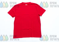 Красная футболка с надписью «КОРОЛЕВИЧ ЕЛИСЕЙ»