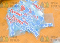 Бордовые бейсболки с логотипом «ТЕРМО ФОРМ»