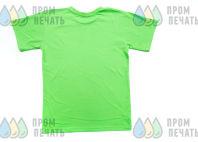 Зеленые футболки с изображением планеты Земля