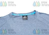Синие футболки с логотипом «DMITRY KLOKOV»