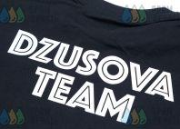 Черные футболки с рисунком (цветной) «JAZZ»
