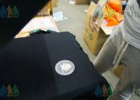 Черные свитшоты с лого и надписью «SWEET BABY SWIM»