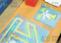 Синие с серыми вставками бомберы с логотипом «ОДИНЦОВО»