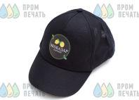 Черные бейсболки с логотипом «ЭКОБАЗАР северный»
