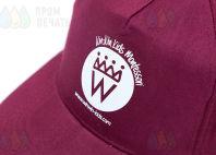 Бейсболки с логотипом «WINWIN»