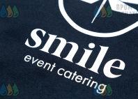 Черные свитшоты с логотипом «Smile»