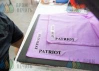 Банданы с надписью «результат PATRIOT»