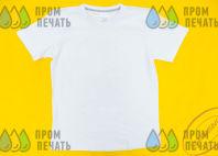 Белая футболка с надписью «заслуженный»