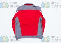 Двухцветные куртки с надписью «STOLESHNIKOV»