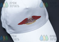 Белые бейсболки с логотипом «RED WINGS»