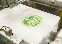 Белые футболки с лого и надписью «Школа 1589»