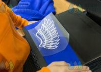 Синие толстовки с рисунком и текстом «ТИМ-ЛИДЕР»