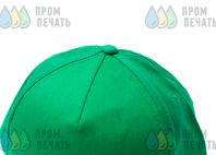Зеленые бейсболки с логотипом «ТЕРМО ФОРМ»