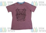 Терракотовые футболки с картинкой «WINNER»