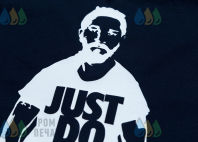Черные футболки с изображением «Just Do It»
