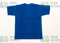 Синие футболки с надписью «PRIVEZU59 доставка товаров из IKEA»