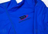 Синие куртки с логотип «ТрансВэйЭкспресс»