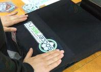 Футболки-поло с надписью и логотипом «MegaLADA»