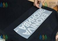 Черные футболки с принтом «EKONIVA ЭКОНИВА»
