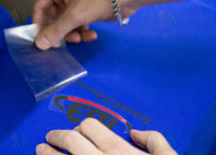 Синие рубашки поло с логотипом «ТрансВэйЭкспресс»