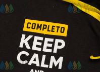 Черные толстовки с надписью «CEEP CALM and CALL HR»