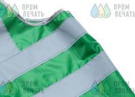 Зеленые сигнальные жилеты с логотипом «ТАВРИДА ЭЛЕКТРИК»