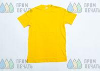 Желтые футболки с изображением «КРЕСТОВОЗДВИЖЕНСКИЙ ХРАМ»