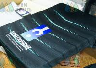 Черная футбольная форма с логотипом «SCREENPHONE»