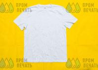 Белые футболки с логотипом «КВАДРО БРАТЬЯ»