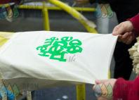 Белые сумки с логотипом «НАШЕ ДЕРЕВО»