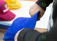 Синие бейсболки с логотипом «ТЕРМО ФОРМ»