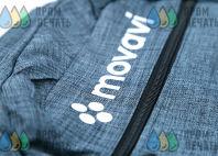 Серые рюкзаки с надписью «MOVAVI»