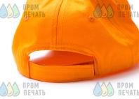 Оранжевые бейсболки с логотипом «ТЕРМО ФОРМ»