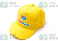 Желтые бейсболки с логотипом «ТЕРМО ФОРМ»