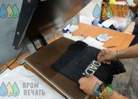 Черные шорты с надписью «Dad»