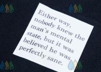 Черная толстовка с изображением «MENTAL STATE»