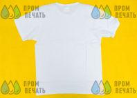 Белая футболка с логотипом «ВОЛОК»