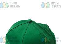 Зеленые бейсболки с логотипом «СЭТ»